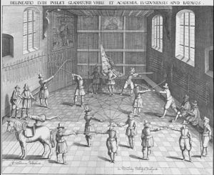 A Fencing School in the Netherlands, 1610