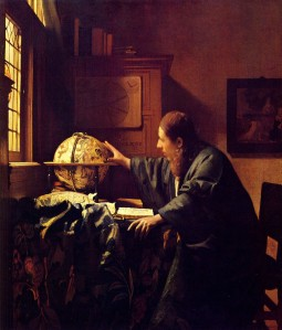 "Johannes Vermeer, ""The Astronomer,"" 1668"