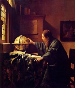 "Johannes Vermeer, ""The Astronomer,"" 1668"