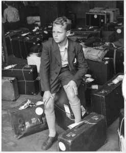 A Displaced Person arrives at Ellis Island in the aftermath of World War II. It seems easier to sympathize with people in the past when we can see that they're like us.